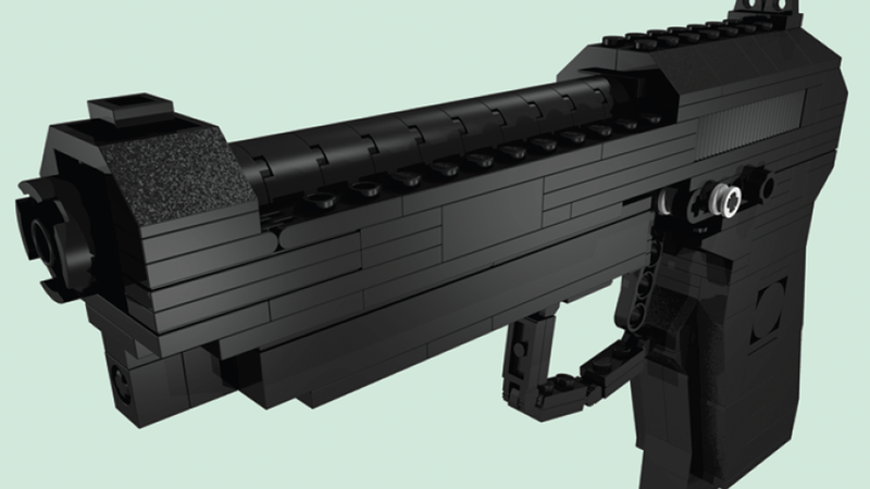 Make This Incredibly Realistic LEGO Gun