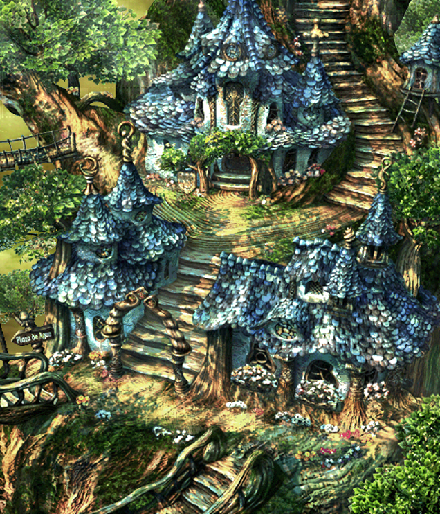 Final fantasy ix had some spectacular backgrounds kotaku uk alright so maybe ffix is actually better than i remember tags final fantasy voltagebd Gallery
