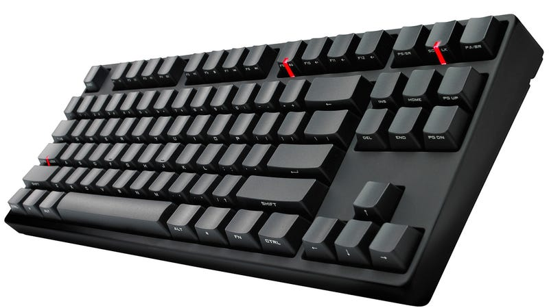Illustration for article titled Test Your Touch Typing Prowess With a Murdered Out Keyboard
