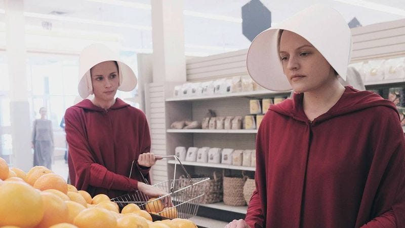 Illustration for article titled The Handmaid's Tale will not become ordinary