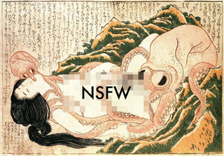 Illustration for article titled Famous Cephalopod-On-Woman Sex Scene Reveals Octopus Isn't That Into Her