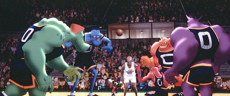 analysis of space jam So, i figured i would do an analysis of a film i truly believe to be one of the   despite it's cartoon cast and campy nature, space jam is a serious.