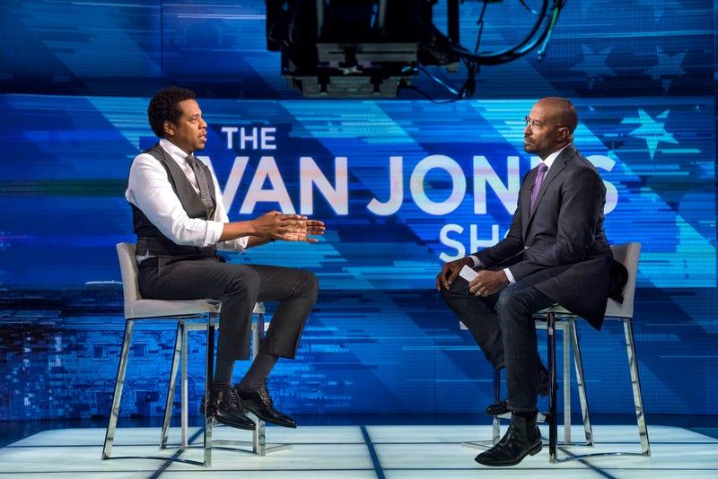 Jay-Z and Van Jones (CNN)
