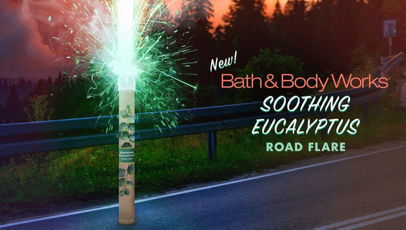 Illustration for article titled Bath & Body Works Unveils New Soothing Eucalyptus Road Flare
