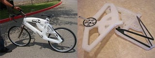 Illustration for article titled Innervision Plastic Bike Should be Called Re-Bicyclable