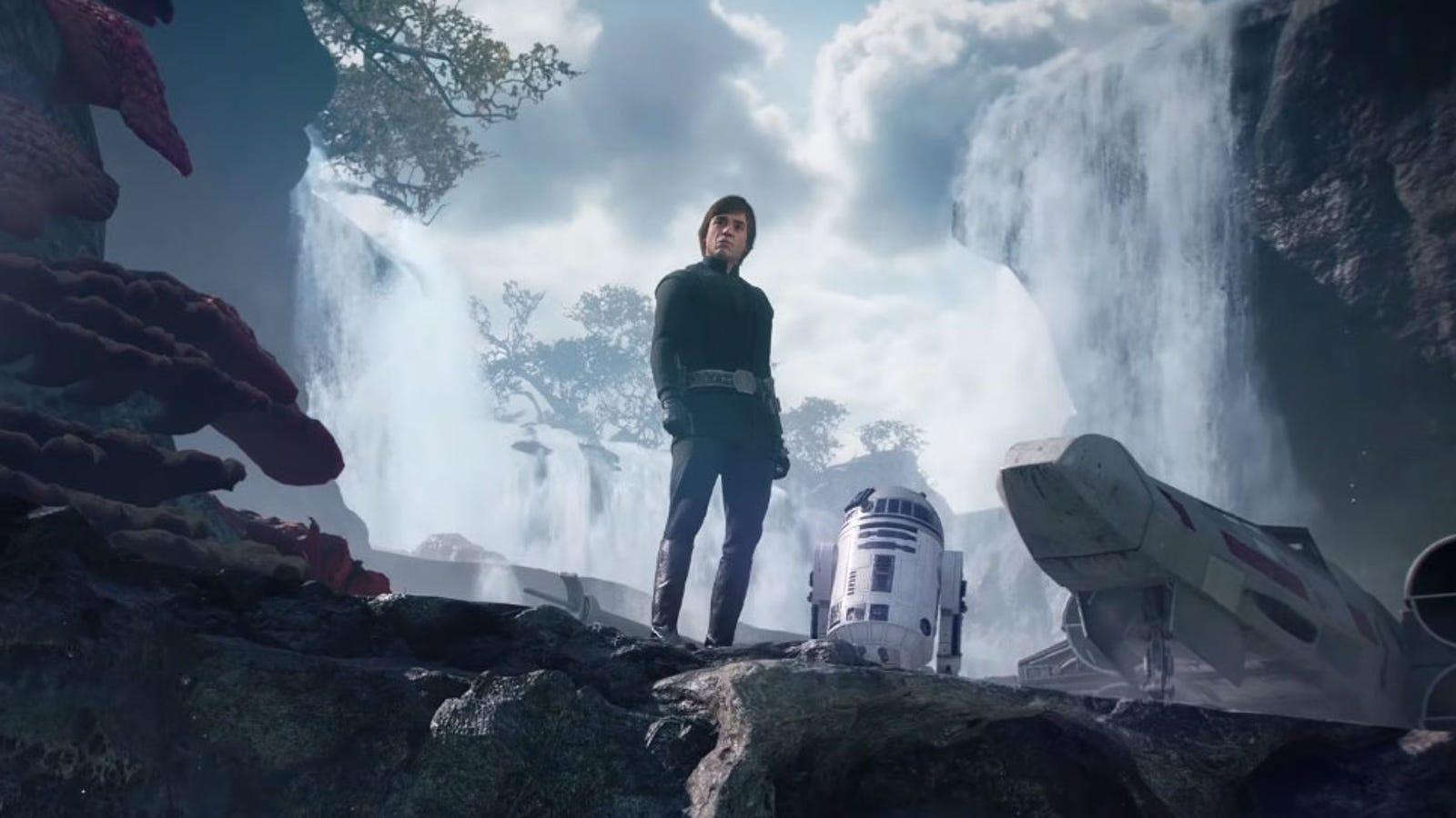 Star Wars Battlefront Ii Gets Luke Skywalker Right Rodeo Bundling 5 Abu M