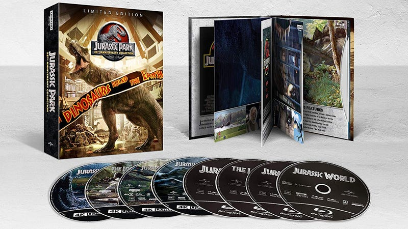 Jurassic Park 25th Anniversary Collection | $30 | Amazon