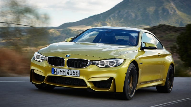 Illustration for article titled Hell Yes The 2014 BMW M3 And M4 Will Do 0 To 60 In Under 4 Seconds