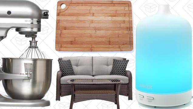 Saturday's Best Deals Patio Furniture $40 Tablet KitchenAid and More – Si