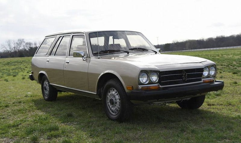 For $13,000, Could This 1982 Peugeot 504 Diesel Wagon Be A Bodacious ...