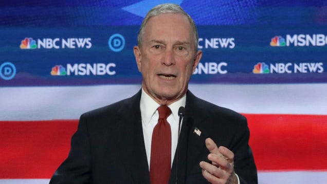 'I'll Rule You Peasants With An Iron Fist,' Says Bloomberg To Standing Ovation During DNC Debate