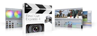 Illustration for article titled Apple Rolls Out Final Cut Express 4 with AVCHD Support for $199