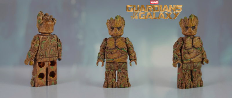 Illustration for article titled Lego Should Make This Custom Fan-Made Groot An Official Minifig