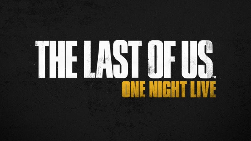 Illustration for article titled Sony to make people read The Last Of Us script on stage