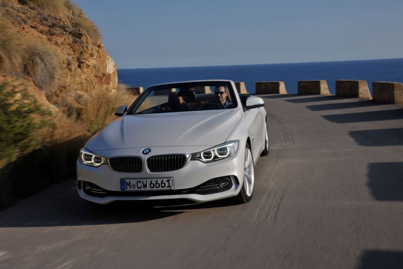 Illustration for article titled The New BMW 4 Series Convertible