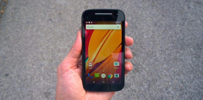 Illustration for article titled Probamos el nuevo Motorola Moto E: una pequeña bestia por 129€/149$