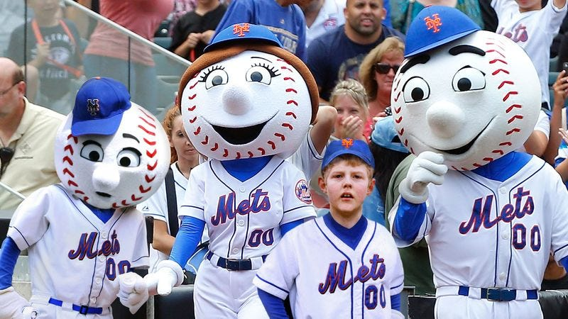 Illustration for article titled Mr. Met's Son Beginning To Think He Adopted