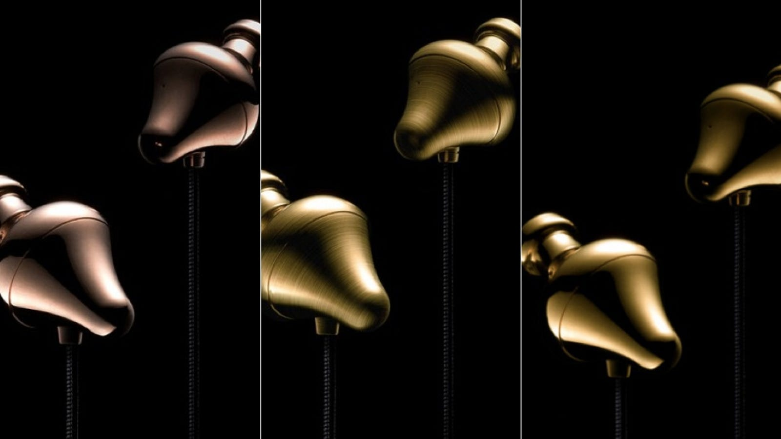 panasonic earbuds iphone x - Run Out of Things to Spend Money On? Here Are Some Gold-Plated Earbuds