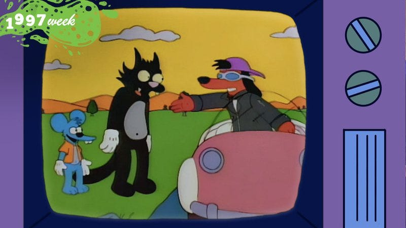 "Screencap from ""The Itchy & Scratchy & Poochie Show"" (Graphic: Natalie Peeples)"