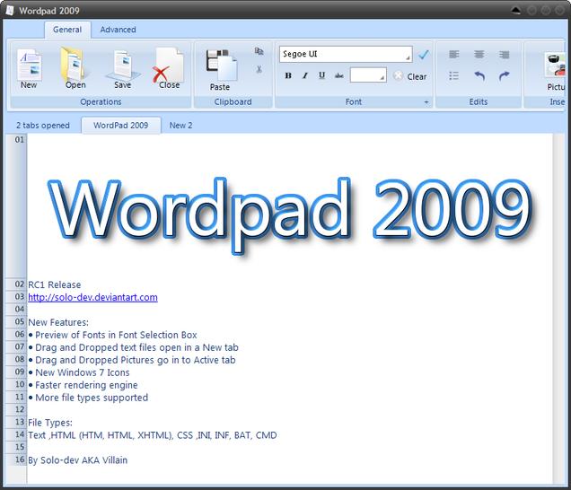 Need help with wordpad?