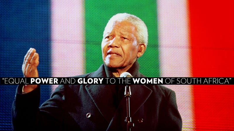 Illustration for article titled What Nelson Mandela Meant for South Africa's Women