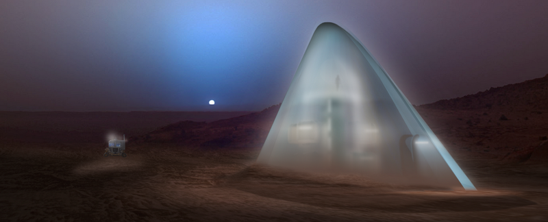 Illustration for article titled Space Igloos, Lava Tubes and Hobbit Holes: Here Are Our Future Martian Habitats
