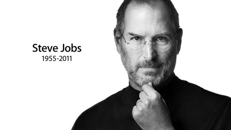 Illustration for article titled Apple Founder Steve Jobs Has Died