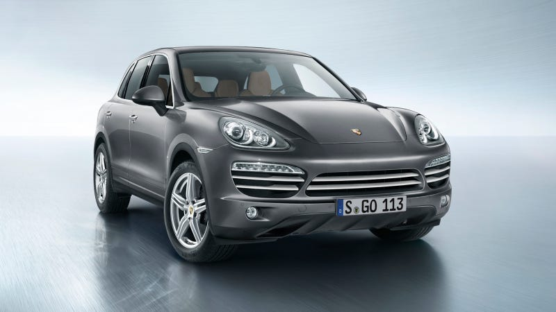 Illustration for article titled The 2014 Porsche Cayenne Platinum Edition