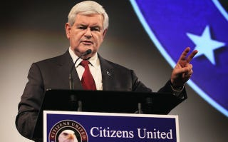 Illustration for article titled Newt Gingrich Urges Gays Not to Vote for Him