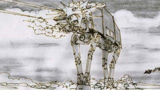 Illustration for article titled Unseen Empire Strikes Back Storyboards Detailing the Battle of Hoth!