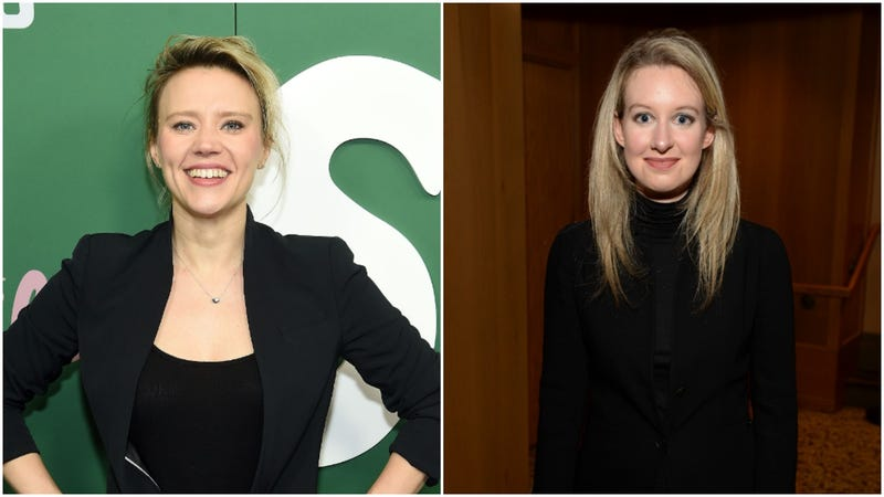 Illustration for article titled Kate McKinnon to play Theranos founder Elizabeth Holmes in a Hulu series, which is perfect