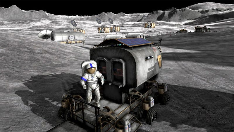 Illustration for article titled NASA Invites Gamers To Explore Moonbase Alpha