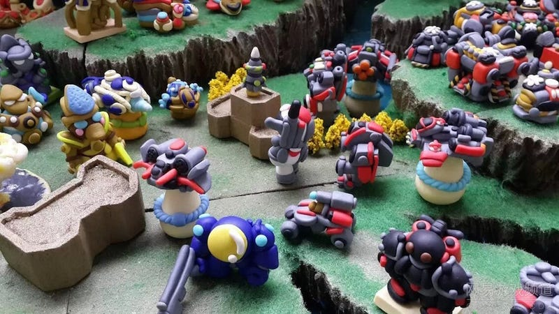 Illustration for article titled Fan-Made StarCraft 2 Diorama Is All Kinds of Cute