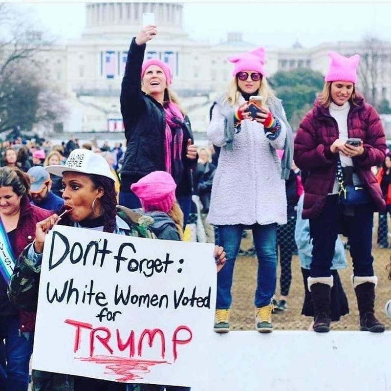 Image result for remember white women voted photo