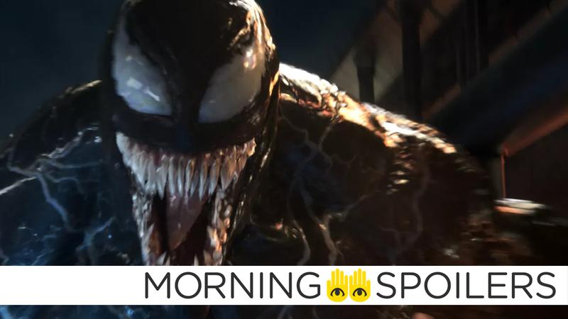 Illustration for article titled Tom Hardy Stokes More Venom Director Rumors