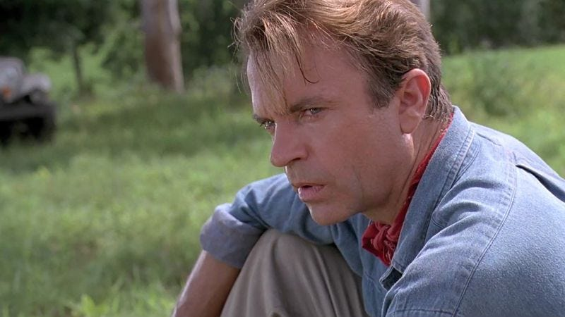 Illustration for article titled Sam Neill says his Jurassic Park character is probably dead or an accountant