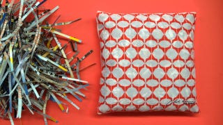 Illustration for article titled Ikea Is Stuffing New Cushions With Old Shredded Catalogs