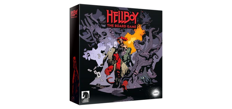 Illustration for article titled Hellboy Board Game Kickstarter Raises $1 Million In About Five Seconds