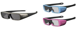 Illustration for article titled Sony's Active-Shutter 3D Glasses Shipping Now For $150