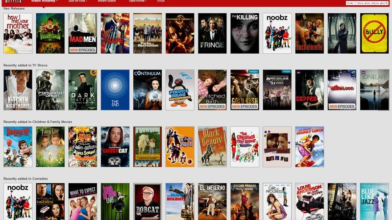 Illustration for article titled Netflix to avoid panic over expiring titles by just not telling you about them anymore