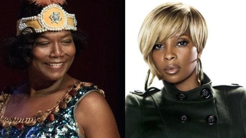 Illustration for article titled NBC's The Wiz Live! adds Queen Latifah and Mary J. Blige, punctuation