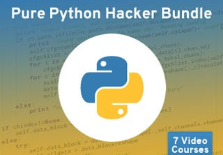 Illustration for article titled Learn to Code with 90% off the Pure Python Hacker Bundle