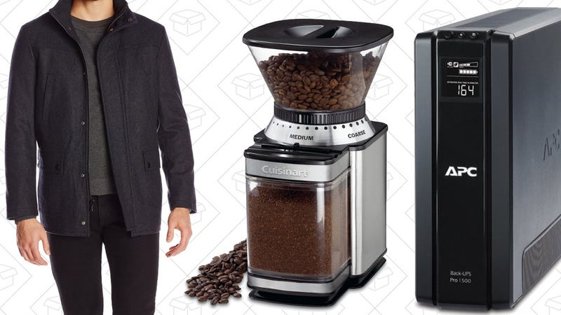 Illustration for article titled Today's Best Deals: PNY Flash Storage, Coffee Grinder, Coats Galore, and More