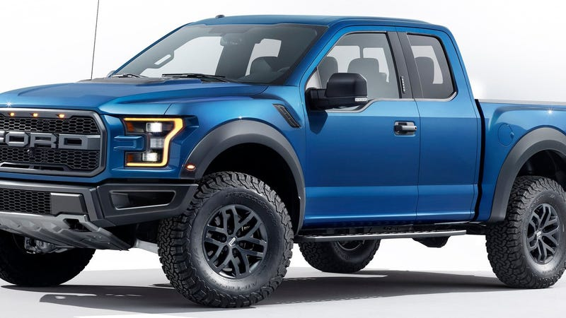 the nasty turbocharged 2017 ford raptor reportedly starts at 48 325. Black Bedroom Furniture Sets. Home Design Ideas
