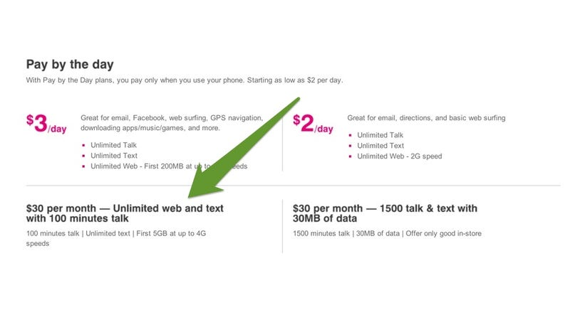 Illustration for article titled T-Mobile Has Unlimited Data/Text Plus 100 Minutes For $30