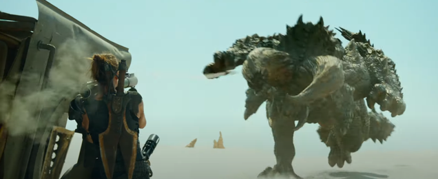 Monster Hunter s First Trailer Brings the Big Monsters (and Big Swords)