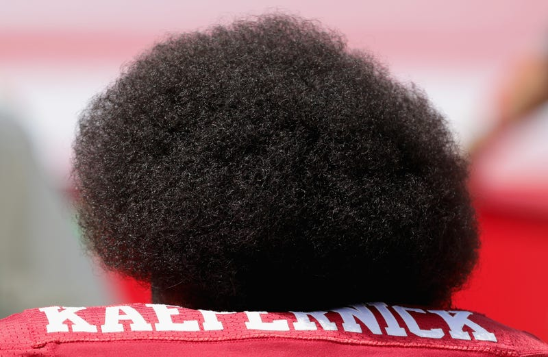 Illustration for article titled Colin Kaepernick Files Trademark Image of His Face and Glorious Afro