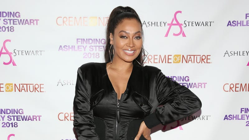 La La Anthony attends Finding Ashley Stewart 2018 at Kings Theatre on September 15, 2018 in Brooklyn, New York.