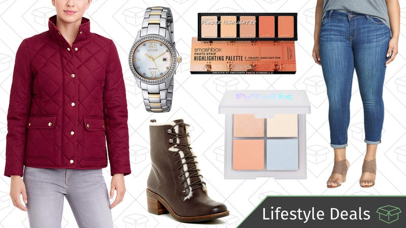 Illustration for article titled Thursday's Best Lifestyle Deals: Watches, Sephora, J.Crew Factory, Lucky Brand, and More