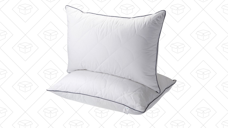 Down Alternative Bed Pillow 2 Pack | $26 | Amazon